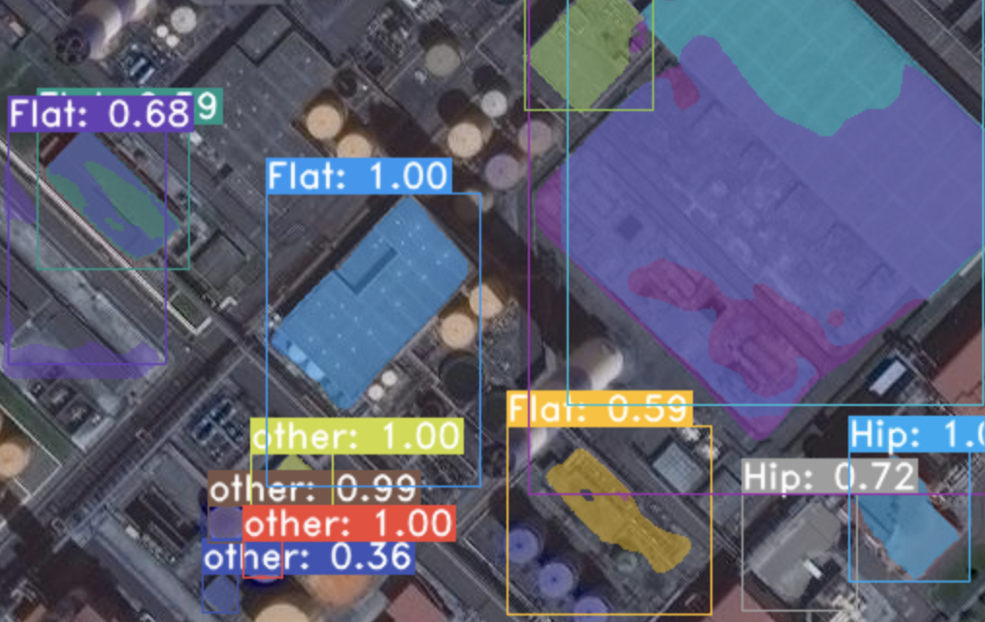 rooftop detection satellite solar AI