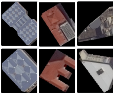 rooftop materials satellite solar AI