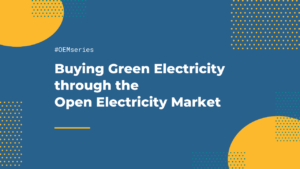 Buying Green Electricity through the Open Electricity Market