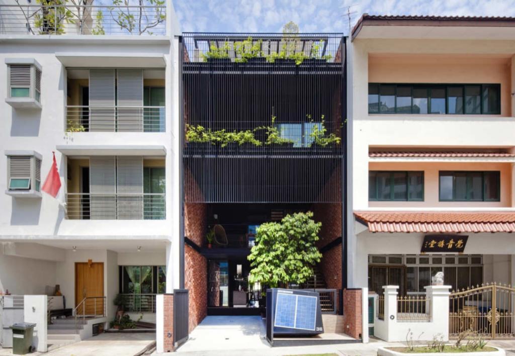 singapore solar powered home