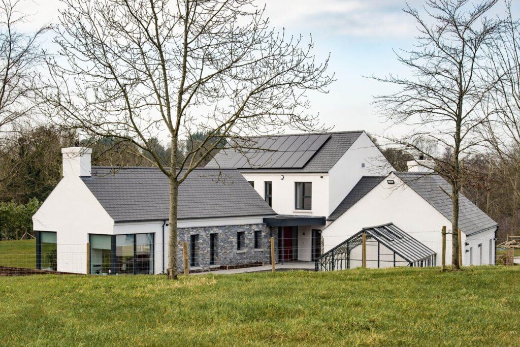 summerisland northern ireland solar powered home
