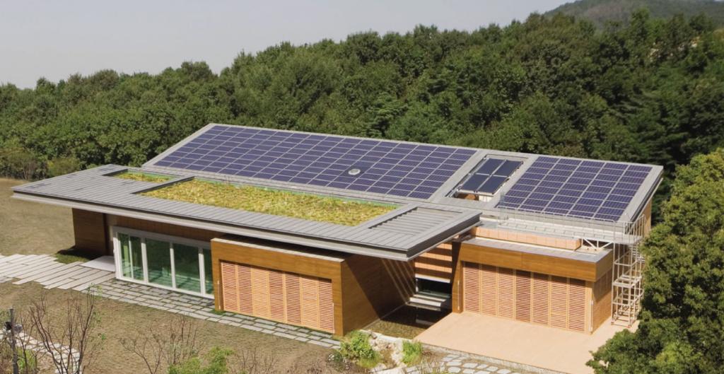 yongin korea solar powered home