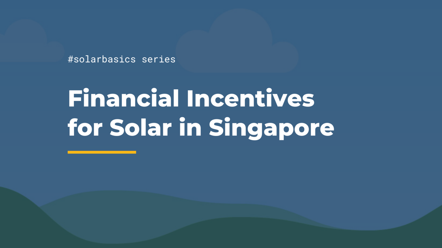 financial incentives for solar in singapore