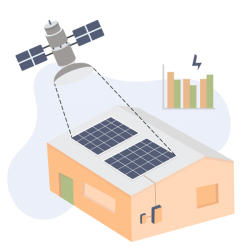solar-ai-satellite-rooftop-assessment-vector
